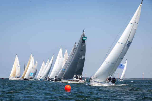 de start van de Regatta