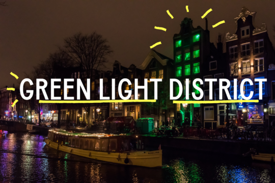 Green Light District in Amsterdam